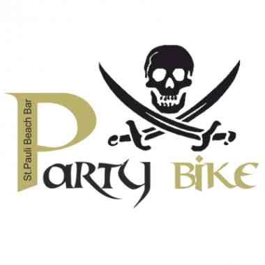 Logo Foodtruck St. Pauli Beach Bar Party Bike