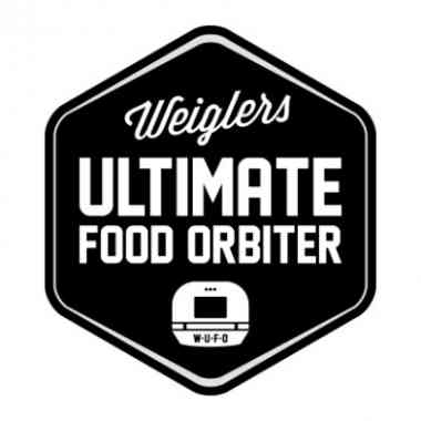 Logo W.U.F.O Weiglers Ultimate Food Orbiter