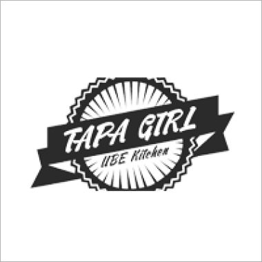 Logo Foodtruck Tapagirl