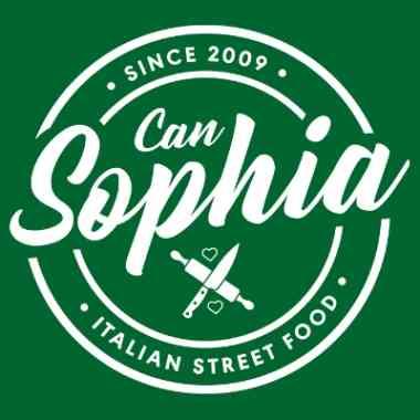 Logo Foodtruck Can Sophia Piadine Rustica