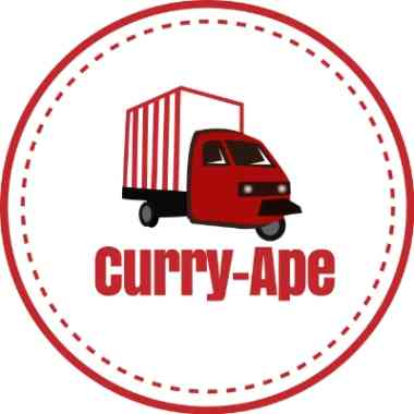 Logo Foodtruck Curry-Ape by Thomas Brunner