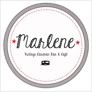 Logo Foodtruck Marlene Vintage Caravan Bar