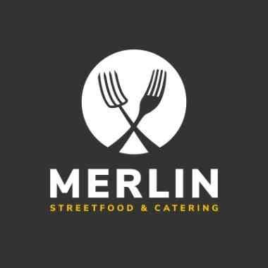 Logo Foodtruck MERLIN