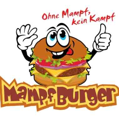 Logo Foodtruck Mampf-Burger