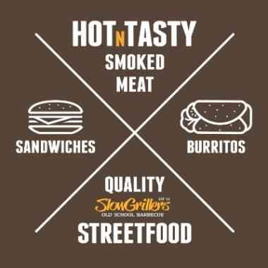 Logo Foodtruck SlowGrillers Old School Barbecue