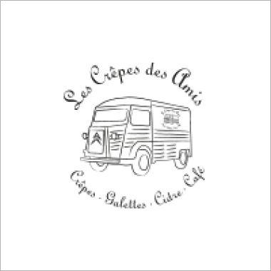 Logo Foodtruck Les Crepes des Amis
