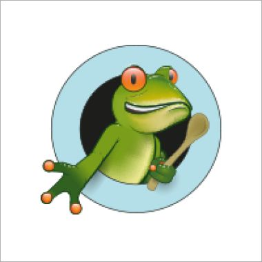 Logo Foodtruck Green Frog Foodtruck