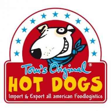Logo Tom's Original Hot Dogs Köln und Pulheim