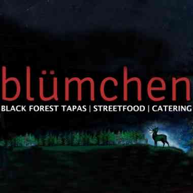 Logo Foodtruck Blümchen - Black Forest Street Food
