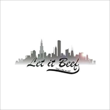 Logo Foodtruck Let It Beef