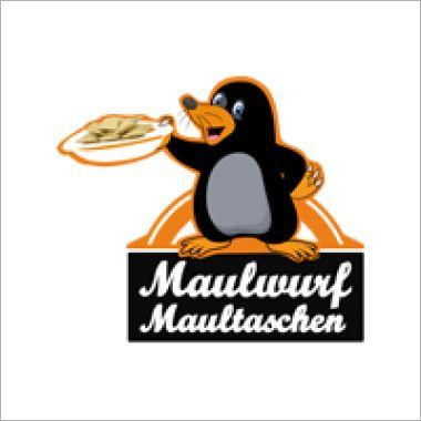 Logo Foodtruck Maulwurf Maultaschen
