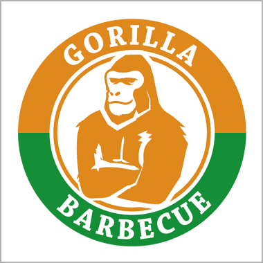 Logo Foodtruck Gorilla Barbecue