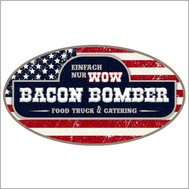 Logo Foodtruck Bacon Bomber Food Truck/Catering