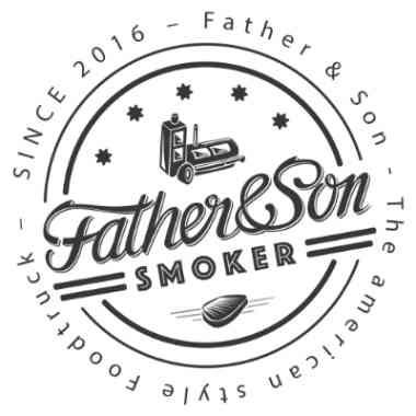 Logo Father & Son Food Truck