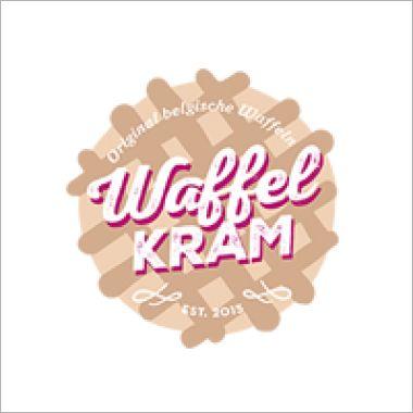 Logo Foodtruck WaffelKRAM - Belgische Waffeln Nachtisch Dessert Food Truck Catering