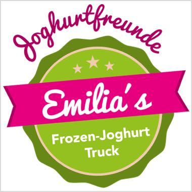 Logo Foodtruck Joghurtfreunde – Emilias Frozen Yogurt Truck