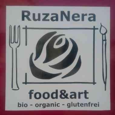 Logo Foodtruck RuzaNera Food&Art Bio Foodtruck