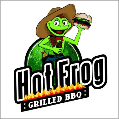 Logo HotFrog BBQ