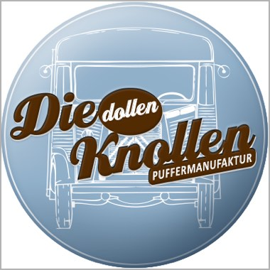 Logo Foodtruck Die dollen Knollen - Puffermanufaktur