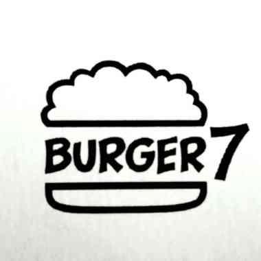 Logo Foodtruck Burger Sieben