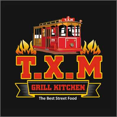 Logo Foodtruck T.X.M Foodtruck