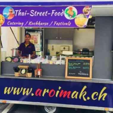 Logo Foodtruck Aroimak, Thaistreetfood