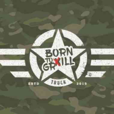 Logo Born to Grill Truck