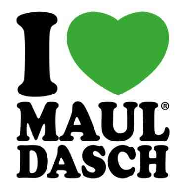 Logo Foodtruck I love Mauldasch by Running Mh