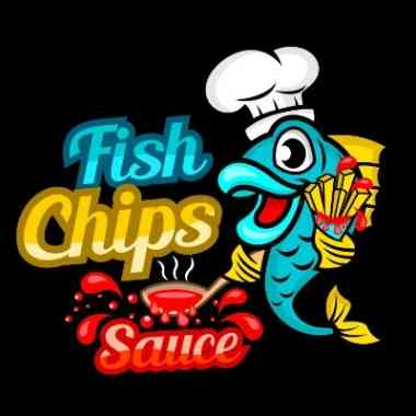 Logo - Fish Chips Sauce - Logo Fish Chips Sauce