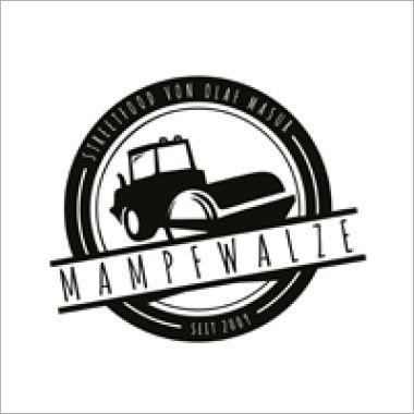 Logo Foodtruck Mampfwalze