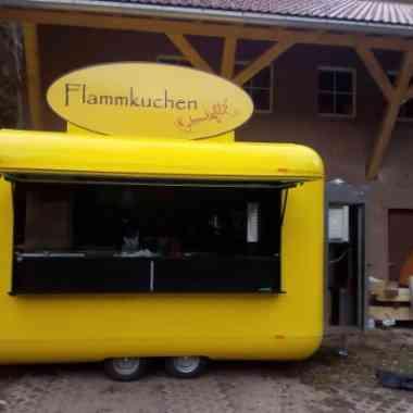 Logo Foodtruck mobile Flammkuchenbäckerei Schmackofatz