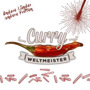 Logo Logo Curry Weltmeister