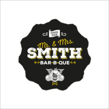 Logo Foodtruck Mr. & Mrs. Smith Food