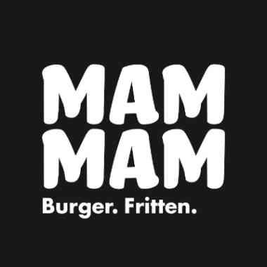 Logo Foodtruck MAM MAM Burger & Fritten