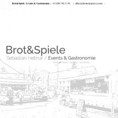 Logo Foodtruck Brot&Spiele Events & Gastronomie