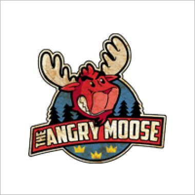 Logo Foodtruck The angry moose