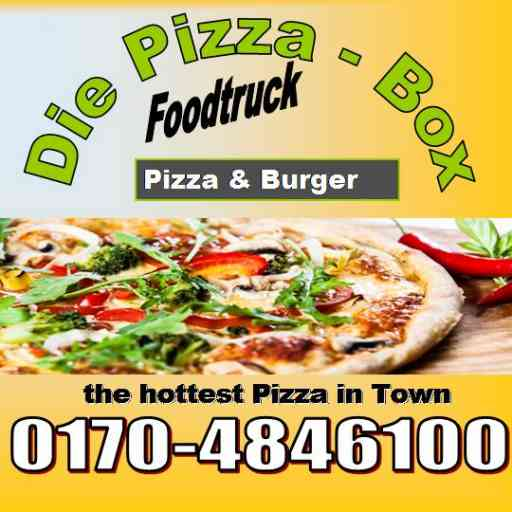 Logo Foodtruck Die Pizza-Box