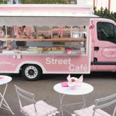 Logo Foodtruck Marlene´s Street Café