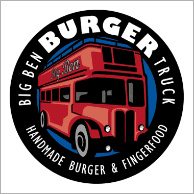 Logo Foodtruck Big Ben Burger Truck