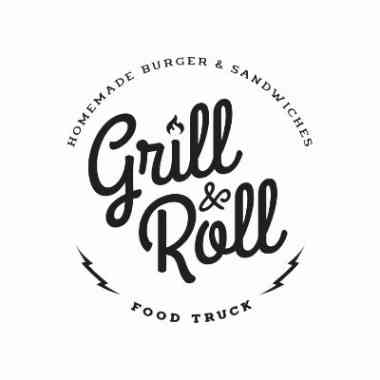Logo Foodtruck Grill & Roll