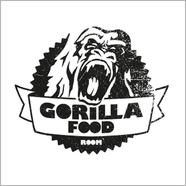 Logo Foodtruck Gorilla Food