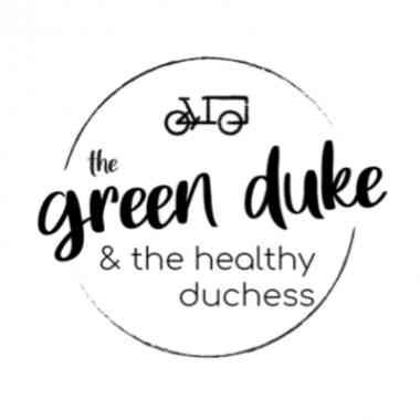 Logo the green duke & the healthy duchess OG