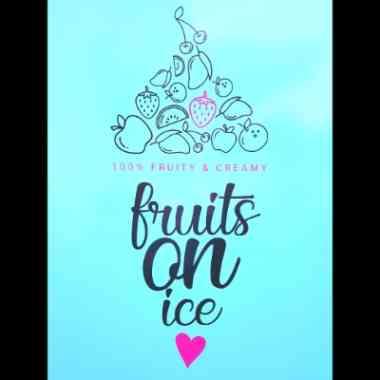 Logo Foodtruck fruits ON ice