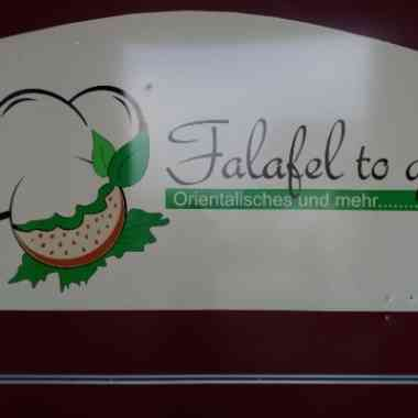 Logo Foodtruck Falafel to Go