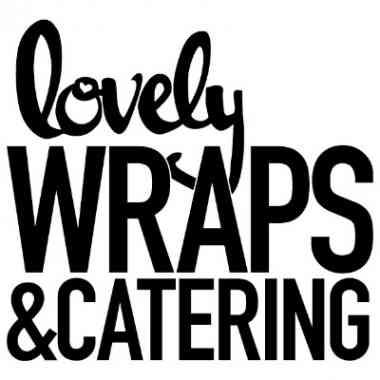 Logo lovely Wraps & Catering