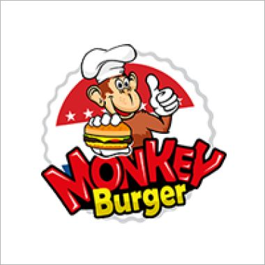 Logo Foodtruck MonkeyBurger