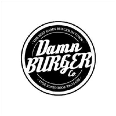 Logo Foodtruck Damn Burger