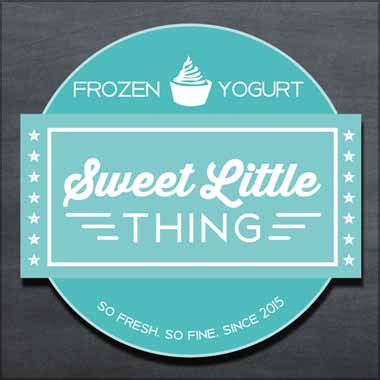 Logo Foodtruck Sweet Little Thing
