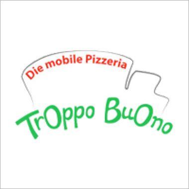 Logo Foodtruck Troppo Buono - mobile Pizzeria
