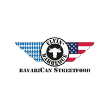 Logo Foodtruck FlyIn Barbeque / BavariCan BBQ